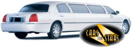 Limo Hire Baxley - Cars for Stars (Northampton) offering white, silver, black and vanilla white limos for hire
